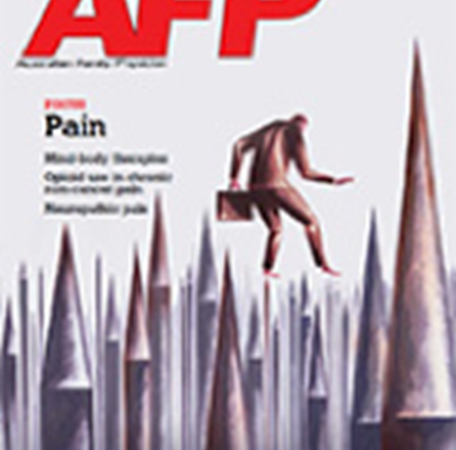 The Pain Issue – Australian Family Physician March 2013