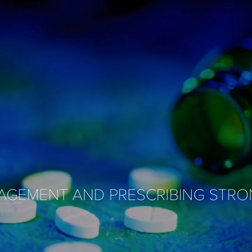 Pain management and prescribing opioids