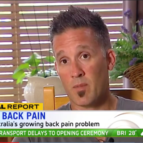 Fighting Australia's growing back pain problem